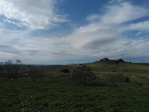Castillejos volcánicos de la Bienvenida